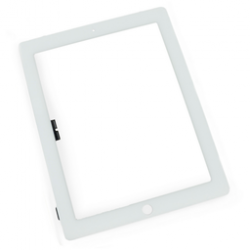 Touch-screen con vetro Bianco (A++) iPad 4 Retina