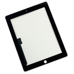 Touch-screen con vetro Nero (A++) iPad 4 Retina