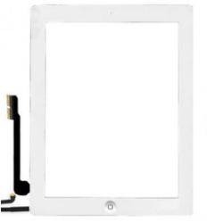 Touch screen + tasto interno Bianco (A+) compreso biadesivo iPad 4 Retina