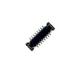 Connettore da saldare su scheda logica a 16 pin, 0.35 mm