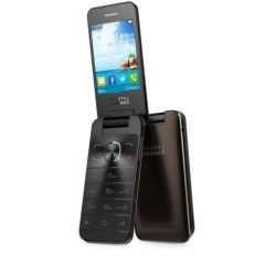 ALCATEL 20.12D Italia DUAL SIM Chocolate
