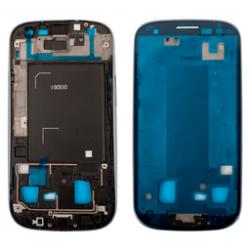 Frame blu completo di cornice e supporto touch screen e display.