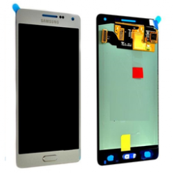 LCD + touch screen + copritasto Argento Galaxy A5