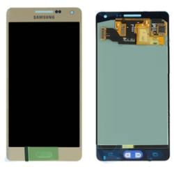 LCD + touch screen + copritasto colore oro