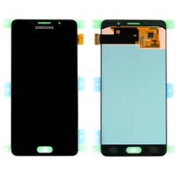 LCD con touch e tasto Joystick Nero Samsung SM-A500 Galaxy A5