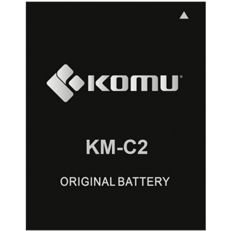Komu Batteria KM-C2 per Smartphone Komu Color 4G ACCESSORIO ORIGINALE KOMU