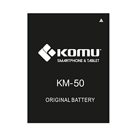Batteria Komu KM-50 per Smartphone K50 - 2400mAh ACCESSORIO ORIGINALE KOMU NUOVO