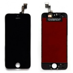 Display completo di touch Nero (A++) --LCD interno Lg o Sharp-- iPhone 5S