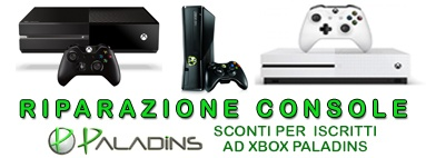Riparazione console, xbox, xbox 360, xbox one, sbox one slim, ps4, playstation 4, wii, wii u, ninten