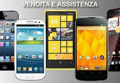 Smartphone: vendita ed assistenza